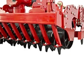 Rotovator With Vertical Blades