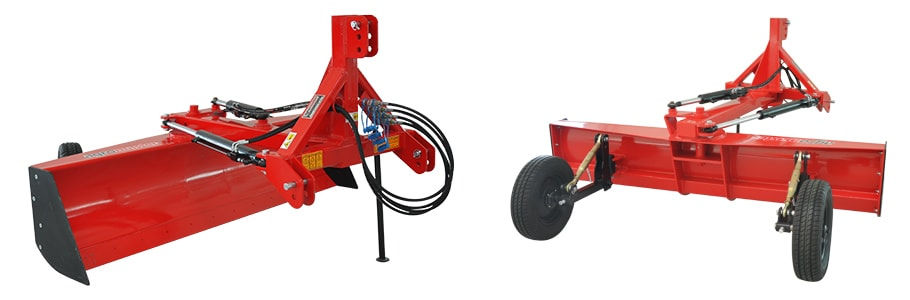 Land Leveller with Wheel