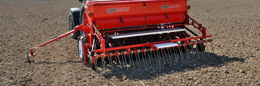 Seed Drills Mounted Disc and Axle Tine