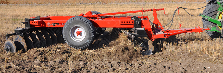 Trailed Wide Type Disc Harrow Heavy Type